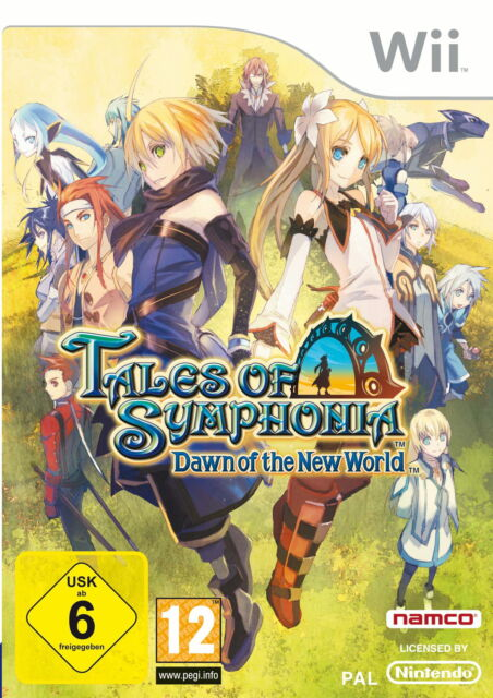 Tales of Symphonia: Dawn Of The New World (Nintendo Wii, 2009, DVD-Box)