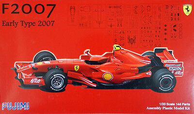 Fujimi GP42 F1 Ferrari F2007 Early Type Australia GP 1/20 scale kit