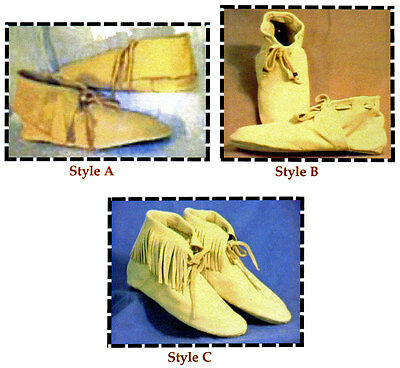 Slipper Moccasin Sewing Pattern - Historic Portuguese 15th Century Azore Style