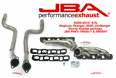 JBA 2009-16 Shorty Headers & Catles Pipes 5.7L CHARGER,CHALLENGER 1964S-1