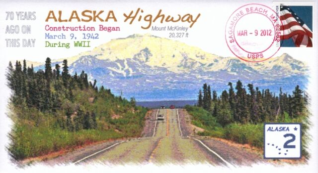 COVERSCAPE computer designed Alaska Highway 70th anniversary event cover
