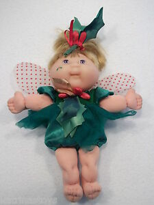 1995-Mattel-Cabbage-Patch-kids-Garden-Fairy-9-034-doll-Xavier-Roberts-11-USED