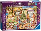 Ravensburger 2012 Limited Edition The Christmas Shop Jigsaw Puzzle (1000 Pieces)