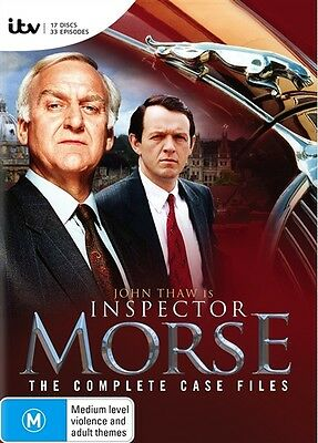 Inspector Morse - The Complete Case Files (Box-Set) = NEW DVD