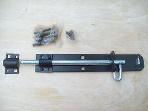 10-Black-Brenton-padbolt-garden-gate-Shed-Garage-padlock-bolt-latch-pad-lock