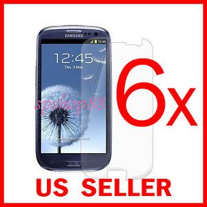 6x-Samsung-Galaxy-S-III-S3-i9300-Clear-LCD-Screen-Protector-Guard-Shield-Film