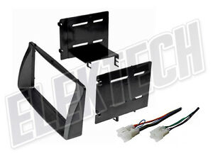 Radio Replacement Dash Mounting Install Kit Double Din W