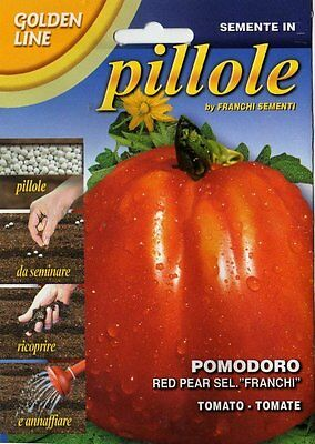 "15 Pillole/Pills POMODORO Red Pear Sel. ""Franchi"""