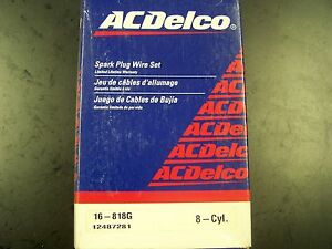 NIB-Delco-16-818G-Ignition-Wire-Set-fit-Ford-Thunderbird-Mercury-Cougar-XR7-XR-7