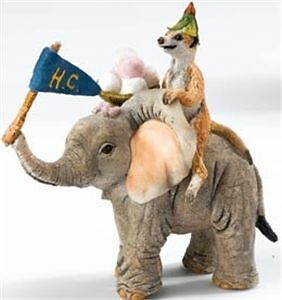 Tuskers-039-Adventures-Of-Henry-and-Henrietta-039-Meerkat-and-Elephant-Figurine-91235