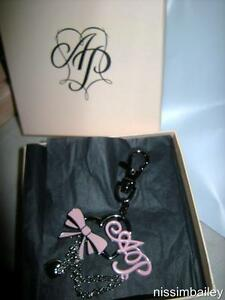 Gift-Boxed-AGENT-PROVOCATEUR-Charm-Pull-Key-Chain-Dangle-PERFECT-GIFTS