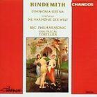 Paul Hindemith - : Symphonia Serena; Die Harmonie der Welt (1993)