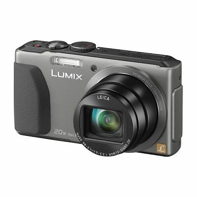 panasonic lumix dmc tz41 18 1 mp digitalkamera silber. Black Bedroom Furniture Sets. Home Design Ideas