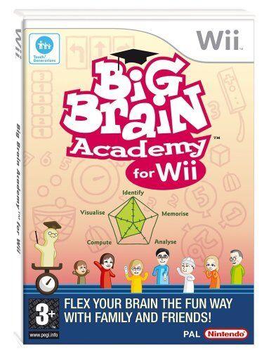 Big Brain Academy (Wii) Nintendo Wii