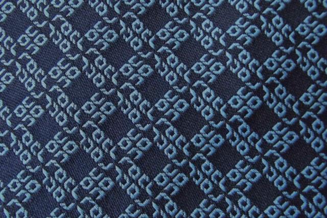 R O C L corporate kipper tie ROCL Neat-wear Vintage 1970s English garment