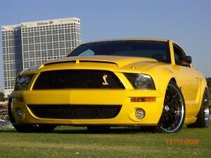2005-2009-Ford-Mustang-GT500-Venom-KR-w-Recess-TruFiber-Ram-Air-Body-Kit-Hood