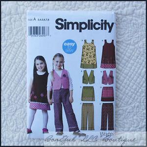 BonEful-Sewing-Pattern-Boutique-3-4-6-8-Girl-Skirt-Dress-Vest-Skirt-School-Pants