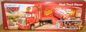 Pixar Cars 1st Edition Mack Truck desert scene