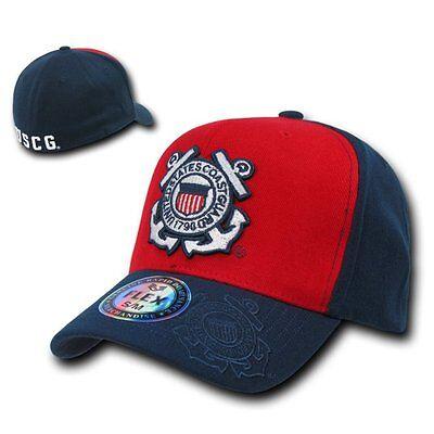 United States US Coast Guard USCG Shadow Flex Baseball Cap Caps Hat Hats Sz S/M