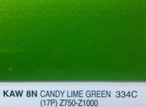 Kawasaki  Lime Green Paint In Store