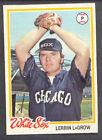 1978 Topps Lerrin Lagrow #14 Baseball Card