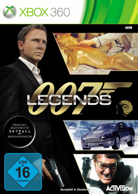 007 Legends (Microsoft Xbox 360, 2012, DVD-Box)