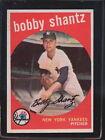 1959 Topps Bobby Shantz #222 Baseball Card