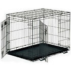 Midwest Homes for Pets Midwest Life Stages Double-Door Folding Metal Dog Crate, 48 Inches by 30 Inches by 33 Inches