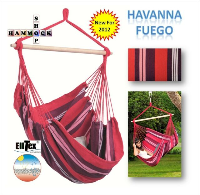 All Weather Hanging Chair~ HAVANNA