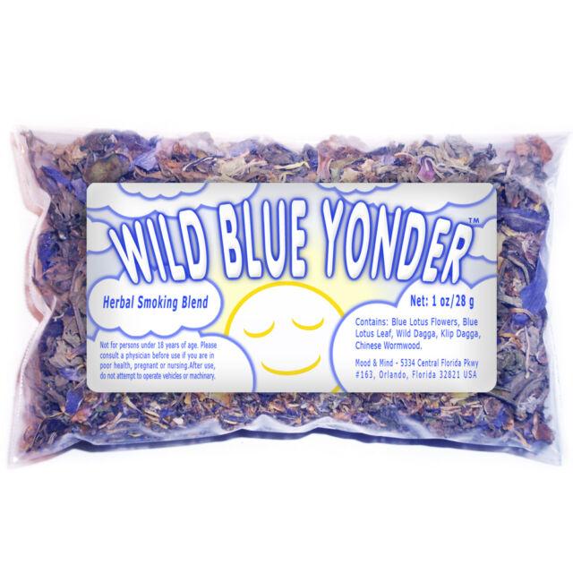 Herbal Blend (Blue Lotus Flowers, Klip and Wild Dagga, Chinese Wormwood) - 1 oz