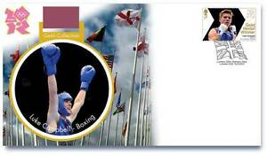 OLYMPIC-GOLD-MEDAL-WINNER-STAMPS-FIRST-DAY-COVER-LUKE-CAMPBELL-BOXING-LONDON