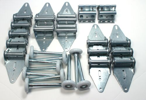 Garage Door Hinge and Roller Kit for 16' X 7' or 18' X 7' - with Bottom Brackets