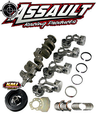 SBC Assault Rotating Assembly 383 Probe Pistons Flat Top 5.7 Scat Rod Chevy