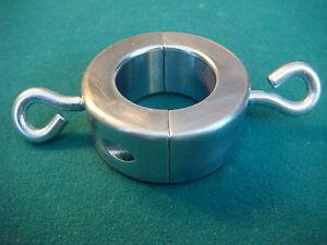 Steel-Ball-Ring-Med-400g-Stretcher-Split-O-Collar-14oz