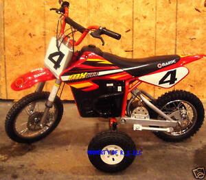 1 Set Of Razor Mx 500 Training Wheels Mx500 Electric Bike Other