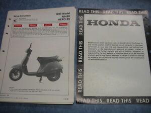 image is loading 1985-nh80-aero-honda-factory-oem-assembly-set-