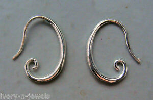 OUR-EXCLUSIVE-15mm-Extra-Fancy-INTERCHANGEABLE-Earring-Wires-925-Silver