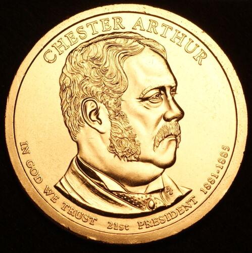 2012 P Chester A Arthur ~ Pos B ~ Presidential Dollar from Original Mint Set
