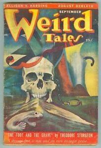 Weird-Tales-September-1949-VG-Sturgeon-Fox-Derleth