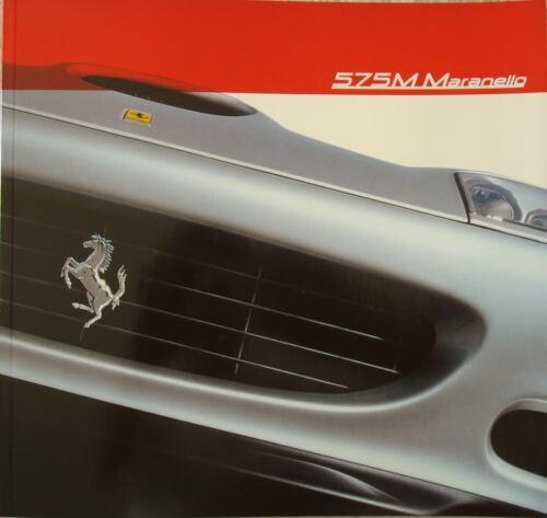 Ferrari 575 M Brochure