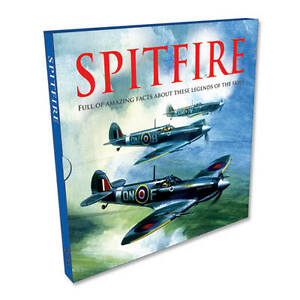 Details about Igloo SPITFIRE Amazing Facts Hardback Book With Slip Case