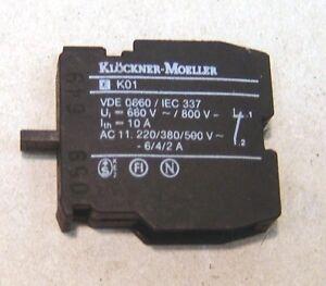 Moeller-RMQ-Kontaktelement-EK01-Offner-NEU