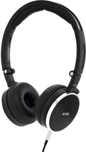0de2692d77b AKG K 490 NC Headband Headphones - Black/Silver for sale online | eBay