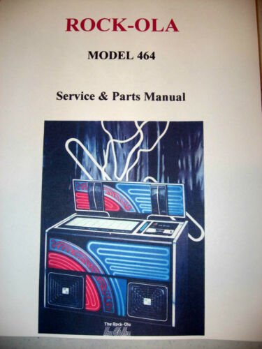 Rock-ola Model 464 Jukebox Manual