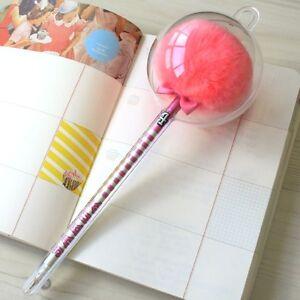 Sakox Pom Pom Pen Lollipop Lovely Cute Afro Fluffy Pens - Cheer Leader / Long