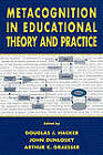 Metacognition in Educational Theory and Practice by Taylor & Francis Inc (Hardback, 1998)