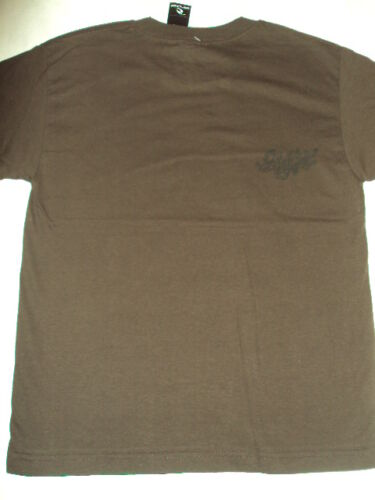 NEW RIP CURL SURF SHOT DOWN BOYS  BROWN TEE T SHIRT M Medium code G100