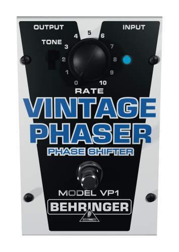 behringer vintage phaser vp1 phaser guitar effect pedal for sale online ebay. Black Bedroom Furniture Sets. Home Design Ideas
