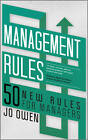 Management Rules: 50 New Rules for Managers by Jo Owen (Paperback, 2011)