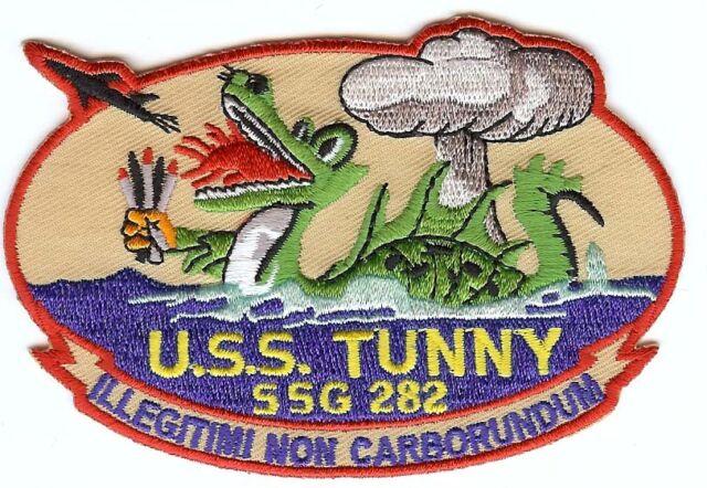 USS Tunny SSG 282 - Dragon - 4 inch BC Patch Cat No C6737